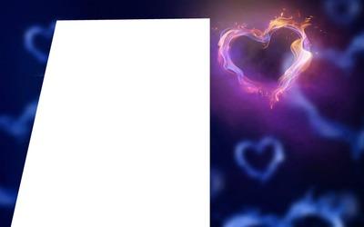 coeur feufollé 1 photo