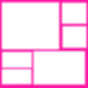 collage rosado