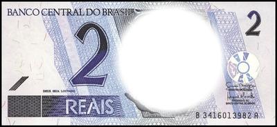 dinheiro do Brasil / 2 reais