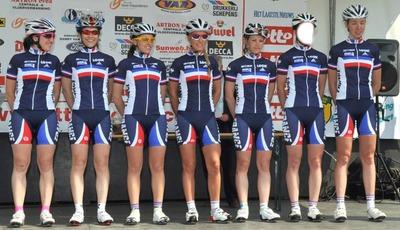 Cycliste de France féminin