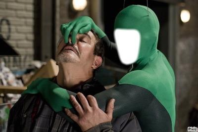 Super-héros vert Krat