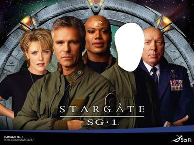 Photo Montage Stargate Puerta A Las Estrellas Pixiz