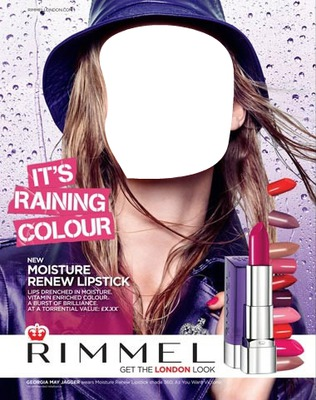 Rimmel New Moisture Renew Lipstick Advertising