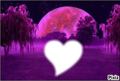 lune violette