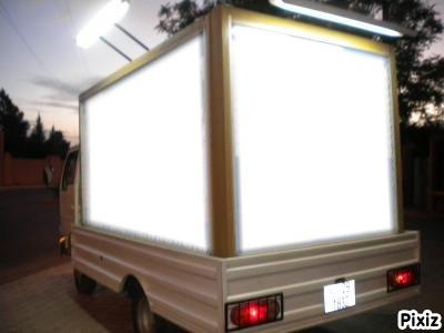 camion publicitaire