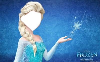 Rostro de Elsa Frozen