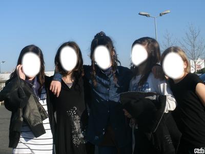 les 5 amies