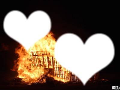 amour plus fort que le feu