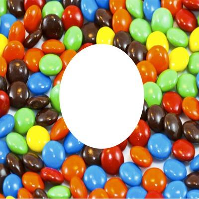 m&m bonbon