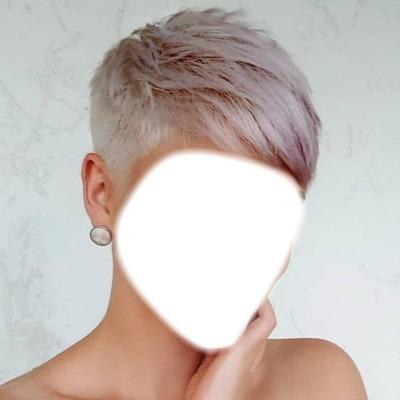femme cheveux court