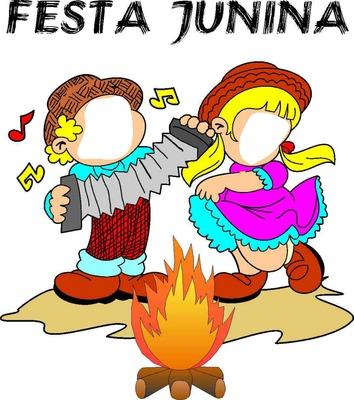 Casal Festa Junina