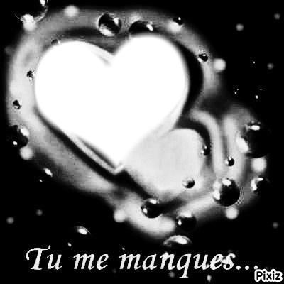 фотомонтаж Tu Me Manques Pixiz