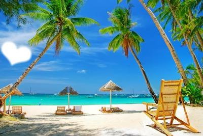 plage paradisiaque