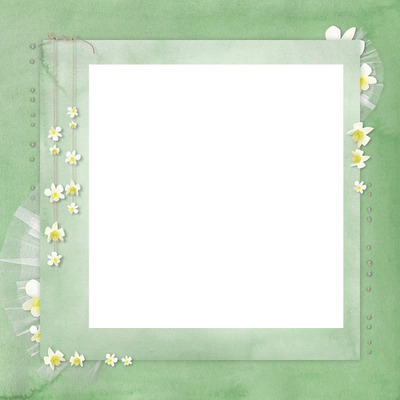 cadre mariage petite fleur