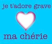 Je Tt'adore Grave Ma Chérie