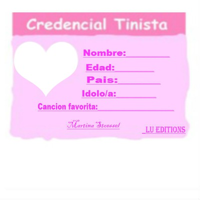 Credencial de Tini (1 foto de Tini)