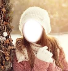 femme hiver