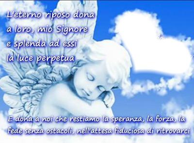 cuore con angelo