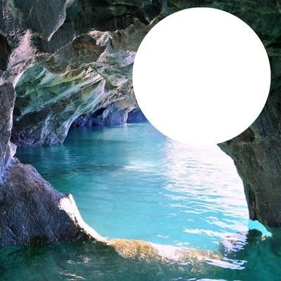 cavernes bleues de Patagonie