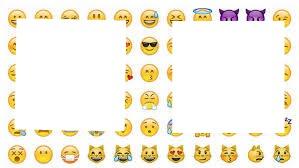 2 fotos emojis