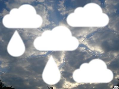 nuages et pluie