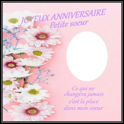 Montaje Fotografico Cadre Fleur 1 Photo Texte Pixiz