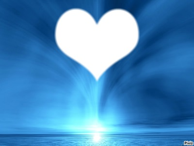 coeur de bleu ocean