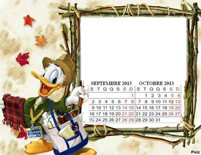 CALENDRIER SEPTEMBRE OCTOBRE 2013