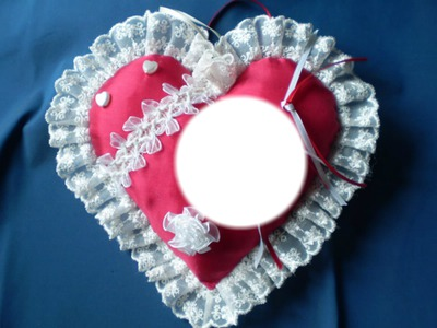 coeur dans un cadre