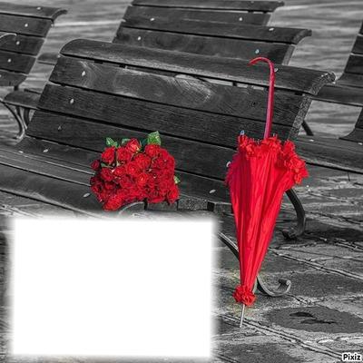 band parapluie fleur ...