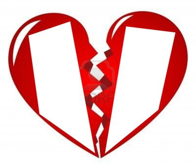 Montaje fotografico corazon roto - Pixiz