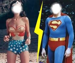 super girl vs super men