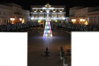 plaza ayuntamiento medina sidonia navidad