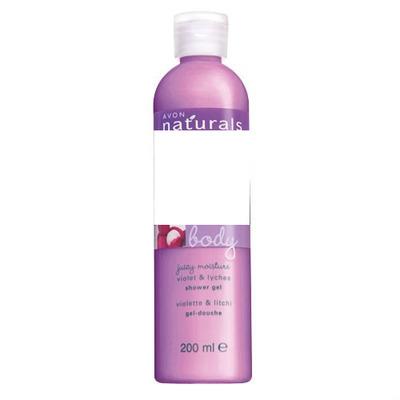 Avon Naturals Violet & Lychee Shower Gel