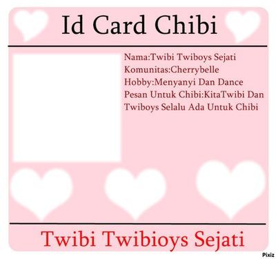 Id Card Chibi Dan TwibiBoys