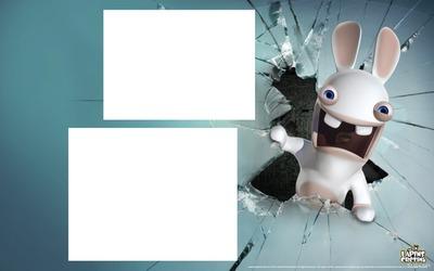 cadre lapin crétin 2