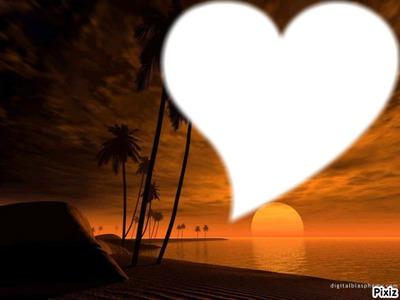 plage de coeur