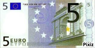 billet de 5 euros