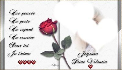livre st valentin avec 2 coeurs