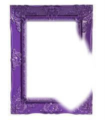 Porta retrato violeta