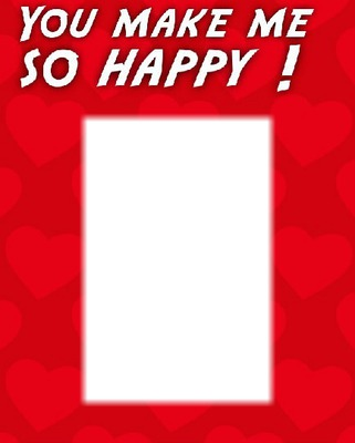 love you make me happy rectangle 1