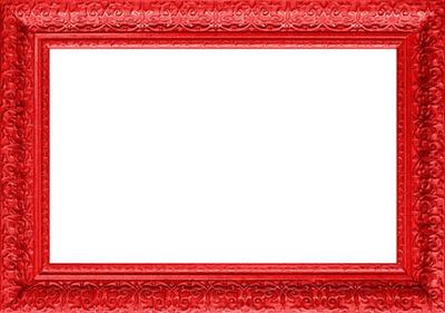 cadre rouge