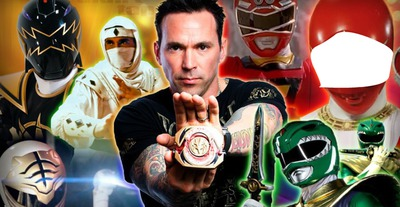 POWER RANGER TOMMY FORCE ROUGE
