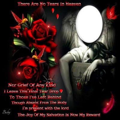 no tears in heaven