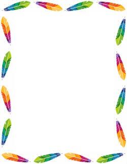 1 photo plumes multicolores