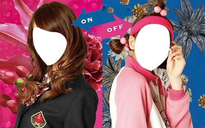 Switch girl ON/OFF