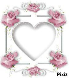 fleur en coeur