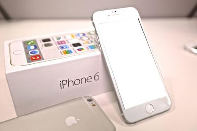 Iphone 6 fotomontagem