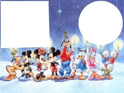 Image De Noel Walt Disney.Montage Photo L Equipe Walt Disney Se Reunie Pour Noel 2015