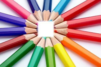 Crayons de couleurs <3.